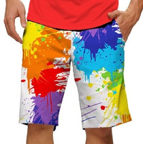 Loudmouth Golf: Men's StretchTech Shorts - Drop Cloth