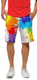 Loudmouth Golf: Men's StretchTech Shorts - Drop Cloth*