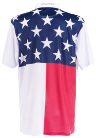 ReadyGOLF Mens Golf Polo Shirt - USA Living in America