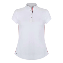 Chase 54: Women's Short Sleeve Polo - Beacon (White) 2XL SALE