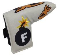 F-Bomb Embroidered Putter Cover - Blade by ReadyGOLF