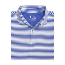 Fairway & Greene: Men's USA Brooks Stripe Polo