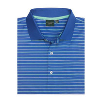 Fairway & Greene: Men's Baker Stripe Lisle Polo