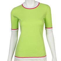 Fairway & Greene: Women's Lex Short Sleeve Sweater