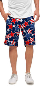 Loudmouth Golf: Men's StretchTech Shorts - Star Studded