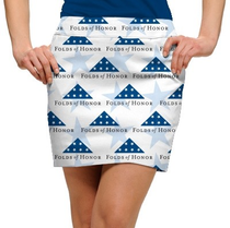 Loudmouth Golf: Women's StretchTech Skort - Stars of Honor