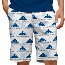 Loudmouth Golf: Men's StretchTech Shorts - Stars of Honor