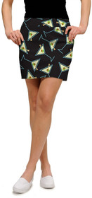Loudmouth Golf Womens Skort - Tee Many Martoonies StretchTech