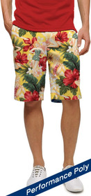 Loudmouth Golf: Men's StretchTech Shorts - Waikiki