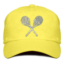 Titania Golf: Women's Cap - Tennis Racquet