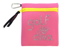 Titania Golf: Neon Carryall Bag - Golf Diva