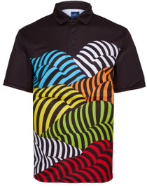 Bottoms Up Mens Golf Polo Shirt by ReadyGOLF