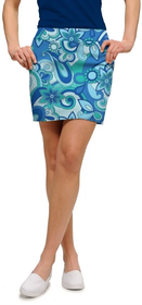 Loudmouth Golf: Women's StretchTech Skort - Summer of Love