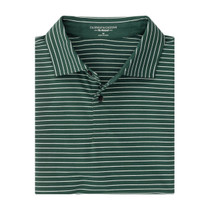 Fairway & Greene: Men's The Wrangler Stripe Natural Jersey Polo