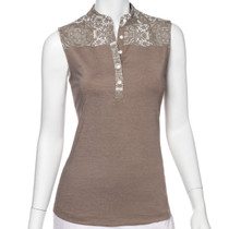 Fairway & Greene: Women's Tabitha Sleeveless Polo