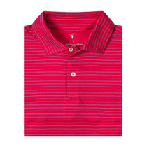 Fairway & Greene: USA Baker Stripe Jersey Polo
