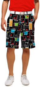 Loudmouth Golf Mens Shorts - Happy Hour StretchTech