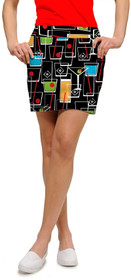 Loudmouth Golf: Women's StretchTech Skort - Happy Hour*