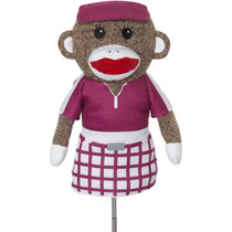 Creative Covers: Girl Sock Monkey Girl Golf Headcover