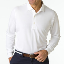 Fairway & Greene: Men's USA McHugh Longsleeve Pique Polo
