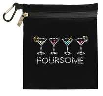 Titania Golf: Women's Accessory Bag - Foursome