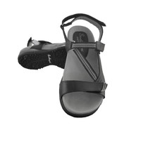 Sandbaggers: Women's Golf Sandals - Tango Black