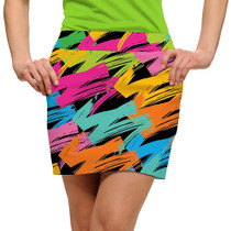 Loudmouth Golf: Women's StretchTech Skort - Broad Strokes