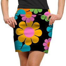 Loudmouth Golf: Women's StretchTech Skort - Magic Bus