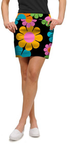 Loudmouth Golf: Women's StretchTech Skort - Magic Bus*