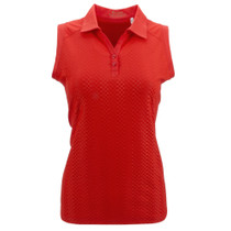 Nancy Lopez Golf: Women's Sleeveless Plus Polo - Grace