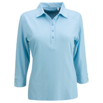Nancy Lopez Golf: Women's 3/4 Sleeve Plus Polo - Grace