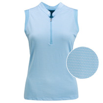Nancy Lopez Golf: Women's Sleeveless Plus Polo - Flex
