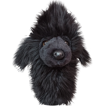 Daphne's Headcovers - Black Poodle Hybrid Golf Club Cover