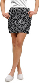 Loudmouth Golf: Women's StretchTech Skort - Shiver Me Timbers*