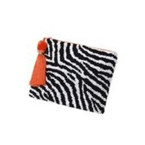 Physician Endorsed: Womens Bag/Clutch - Animal Attraction Zebra