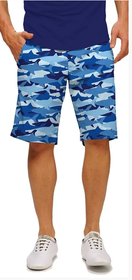 Loudmouth Golf: Men's StretchTech Shorts- Sharkamo