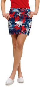 Loudmouth Golf: Women's StretchTech Skort - Icicles