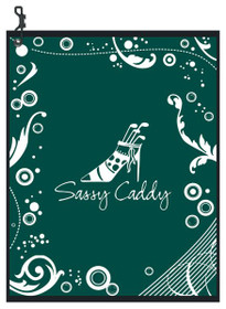 Sassy Caddy: Golf Towel - Green