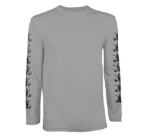 Tattoo Golf: Men's Long Sleeve Undershirt - Grey