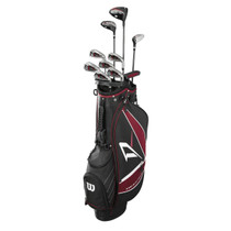 Wilson: Complete Golf Club Set Carry Bag - Deep Red Tour