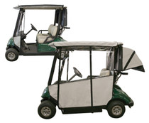 Club Pro: Yamaha Golf Cart Enclosure - 3-Sided Drive (2006-2016) *Expected to Ship Late November*