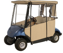 Club Pro: Yamaha Golf Cart Enclosure - 3-Sided Drive 2 (2017-Present)