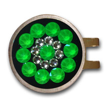 Blingo Ball Markers: Neon Green on Black