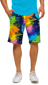 Loudmouth Golf: Men's StretchTech Shorts - Blasterpiece