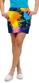 Loudmouth Golf: Women's StretchTech Skort - Blasterpiece