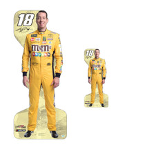 Team Image: Lifesize & Miniature Cardboard Cutout Combo - Kevin Harvick Busch #4 (Yellow)