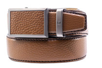 Nexbelt: Men's Go-In Pebble Grain V.3 Belt - Cognac Brown