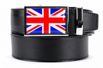 Nexbelt: Specialty - Great Britain Heritage Dress Belt - Black