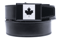 Nexbelt: Specialty - Heritage Canada Black Series Golf Belt - Black
