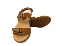 Sandbaggers: Women's Golf Sandals - Lola Chocolate Treat